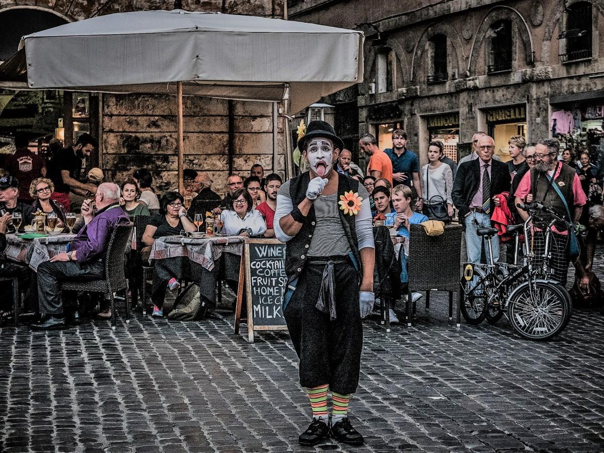 Clown disperato