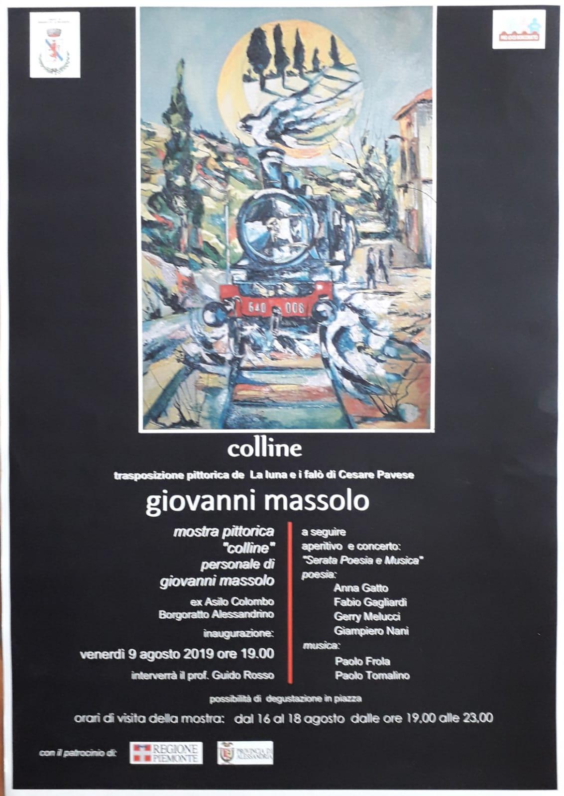 Momenti di cultura. Serata di pittura, poesia e musica a Borgoratto (Alessandria). Articolo a cura di Maurizio Coscia(Sargon)