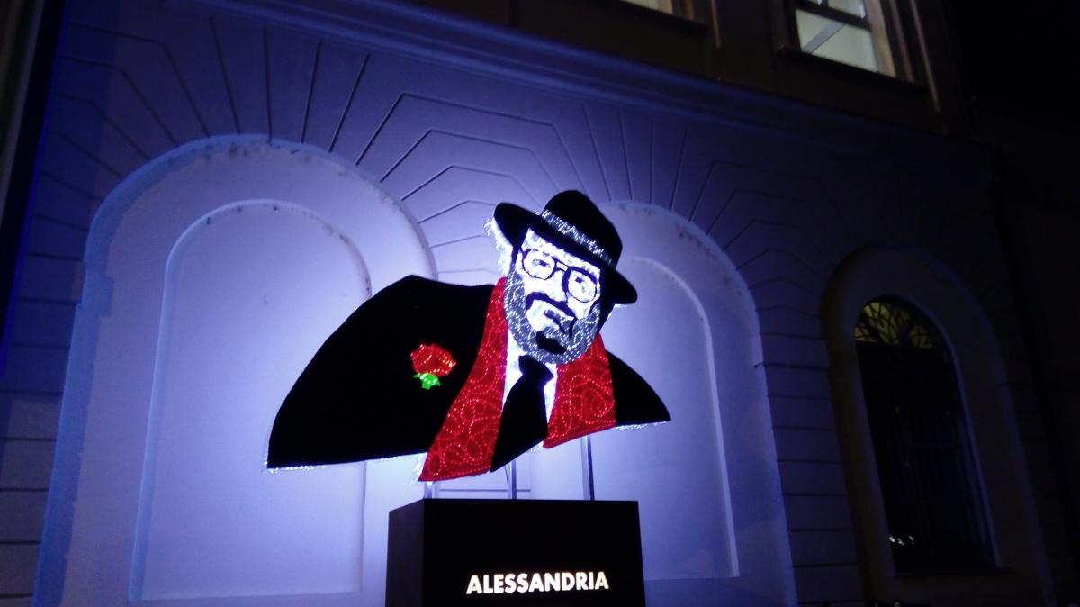 Inaugurazione del monumento dedicato a Umberto Eco. Servizio fotografico di Maurizio Coscia(Sargon)