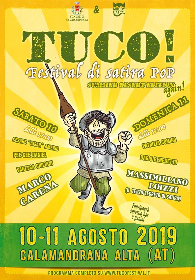Tuco! Festival di satira Pop. Servizio a cura di Maurizio Coscia(Sargon)