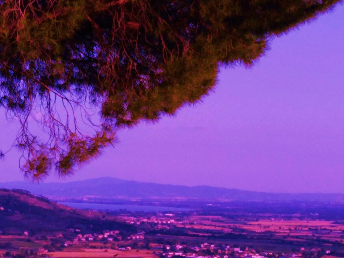 vista sul lago da Cortona