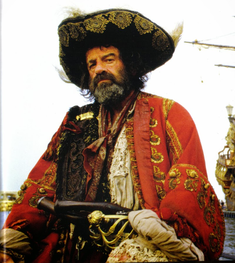 Walter Matthau Captain Red Pirates movie