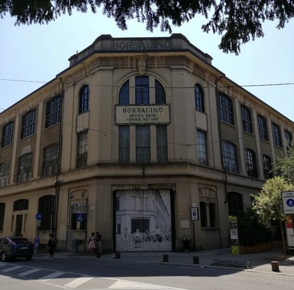 La vecchia fabbrica Borsalino ora Università