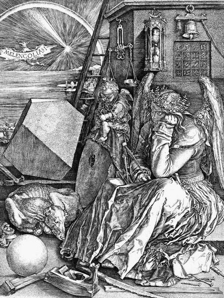 2016-08-15. Albrecht Dürer - Melencolia I