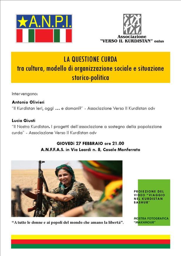 La questione curda - Locandina
