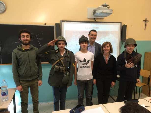 Lezione di storia di Matteo Leddi e Corrado D'Andrea 8