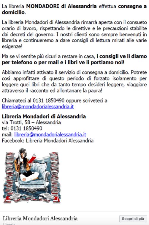 Libreria Mondadori Alessandria