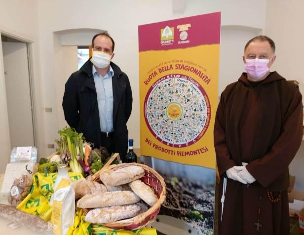 Coldiretti Pres.Bianco e Padre Roberto