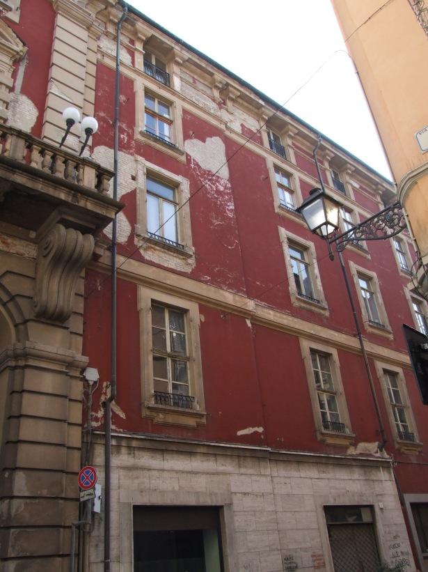 facciata via della Vittoria