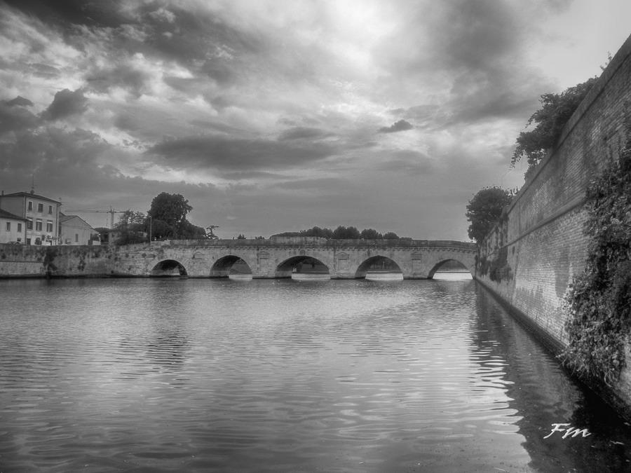 Ponte di Tiberio Rimini 16-08-2015