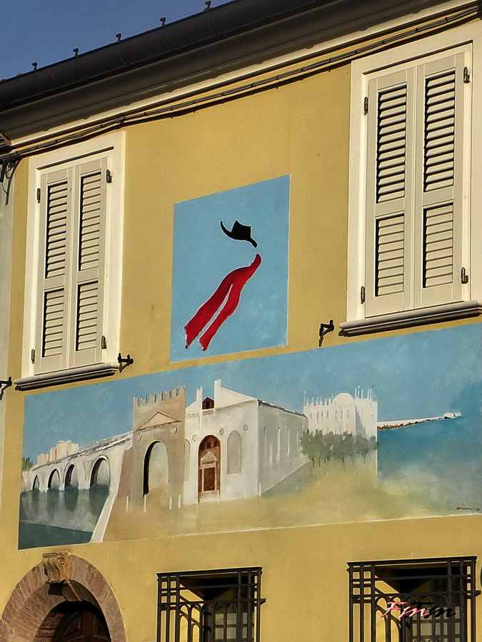 Murales Borgo San Giuliano - Rimini 20-08-2016